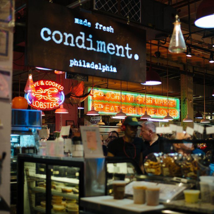 Visit Philadelphia for some of the best food and historical sites. You must visit the Reading Terminal Market for some of the best food in Philly in one place. #thetastesf #travel #philadelphia #market #food