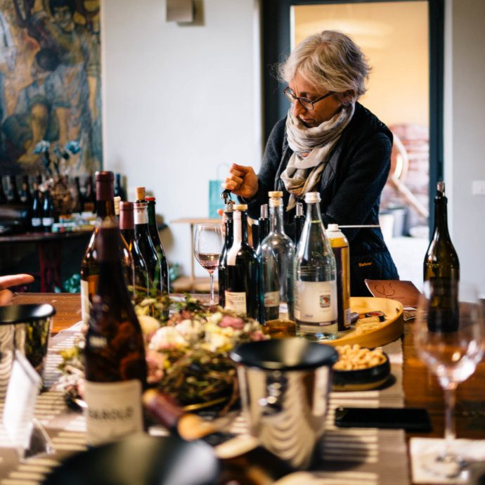 Maria Teresa Mascarello offers a tasting in Piedmont of her legendary Bartolo Mascarello wine.