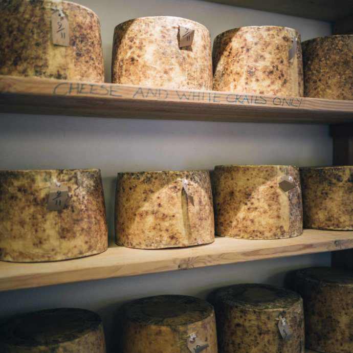The Taste SF food and travel bloggers and photographers recommend going to Neal's Yard Dairy in London for the best local farmhouse cheeses.