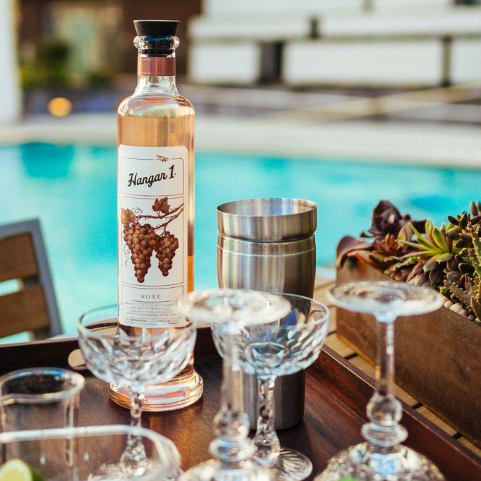 Add a little Pink Aloha in your life this summer with @Hangar1Vodka. Made with the new #RoséVodka and guava juice, you'll be sipping this cocktail by the pool or grill with your friends all summer long! Get the recipe.