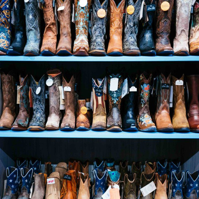 The Taste SF spots Cowboy boots in the shops of Nashville