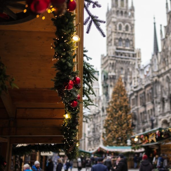 Christmas market in Germany Munich