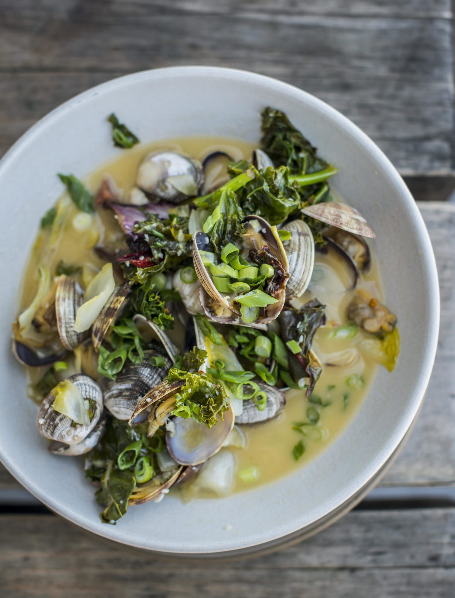 Make Hog Island Oyster Company Steamed Manila Clams with Spanish Chorizo Recipe