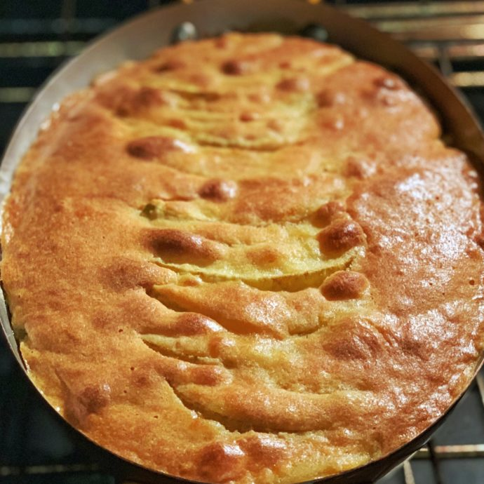 Quick and easy pear frangipane by the taste sf