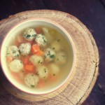 Denmark_Honsekodssuppe - Chicken Broth with Meatballs and Dumplings Recipe Danish Food