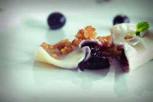 Poland_Pierogi Z Jagodami Polish Cuisine Recipe Blueberries