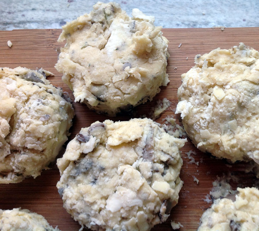 Mushroom Biscuits