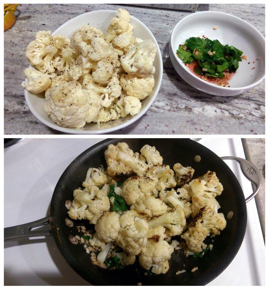 Roasted Cauliflower Gjelina