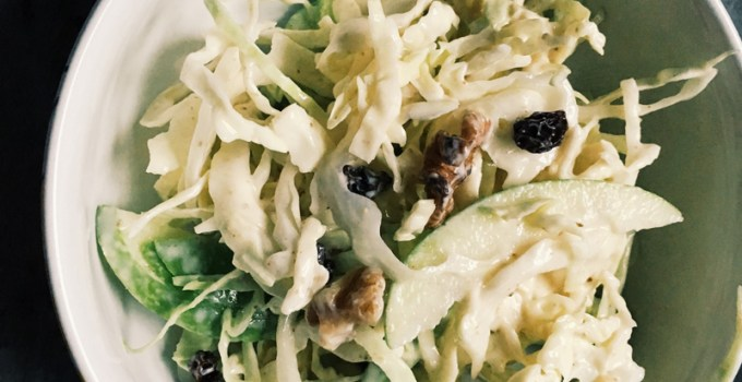 Detox Apple Cabbage Salad