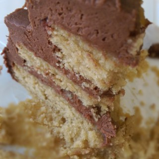 Raspberry Layer Cake Nutella Frosting | the Tastiest Book
