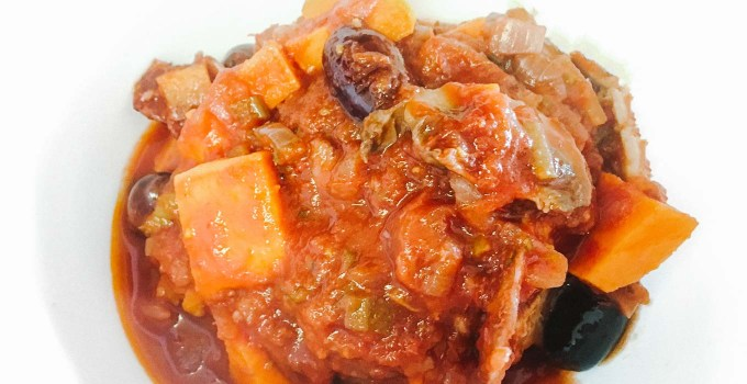 Chicken and Squash Cacciatore