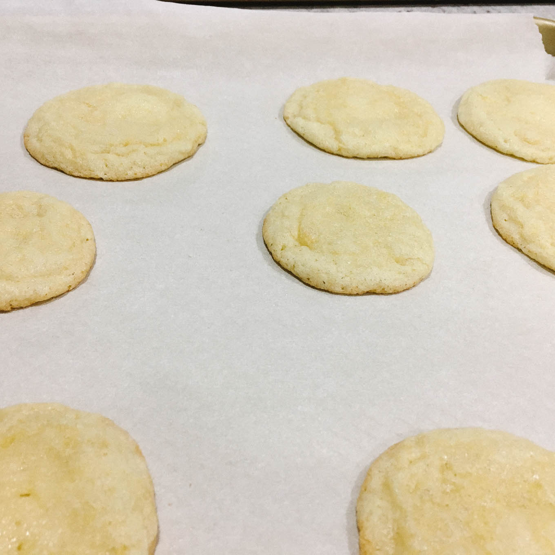 Lemon Sugar Cookies   the Tastiest Book