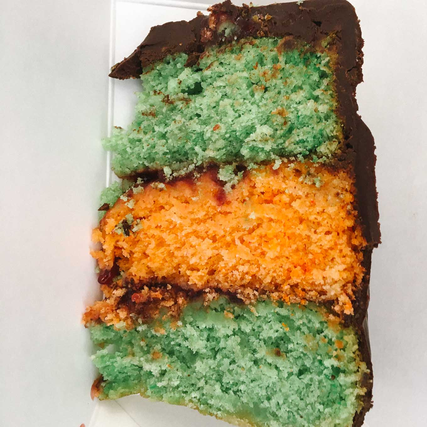 Tricolor Cake | the Tastiest Book