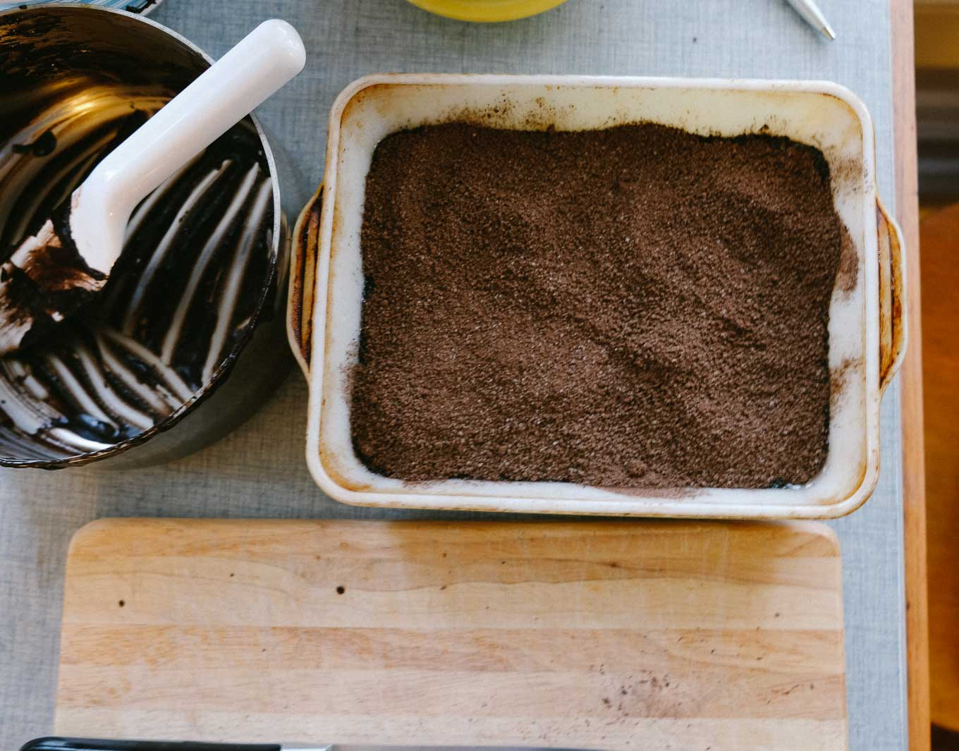 Hot Chocolate Pudding Cake | the Tastiest Book