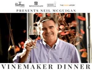 Neil McGuigan winemaker dinner