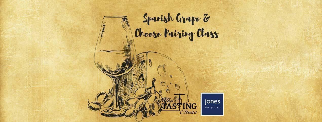 Spanish wine and cheese class
