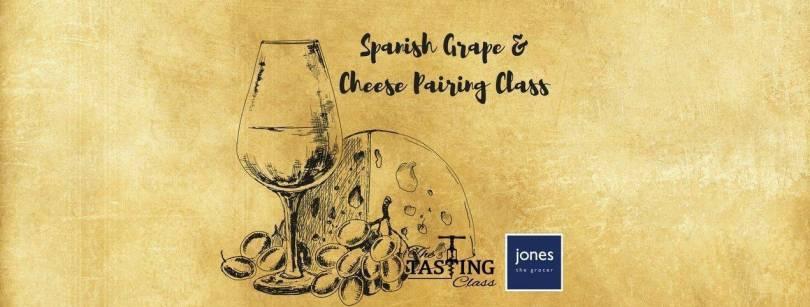 Spanish wine and cheese tasting