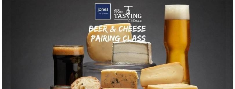 Jones the Grocer Beer & Cheese Pairing Event