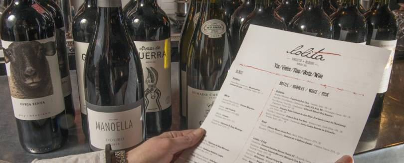 The Tasting Class - Wine List Food Pairing Menu