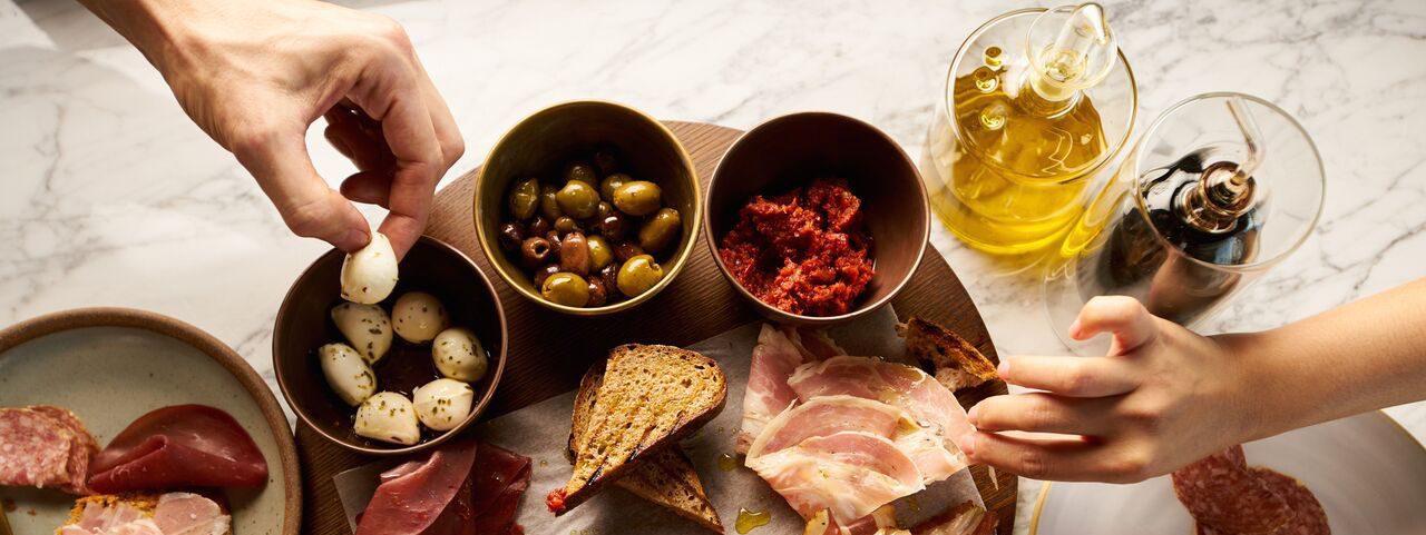 The Tasting Class BASTA antipasti platter