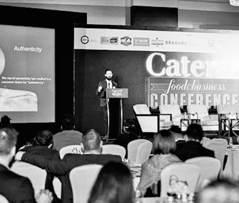 Lindsay Trivers invisted to Middle East Caterer Conference