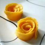 How To: Make Mango Rosettes