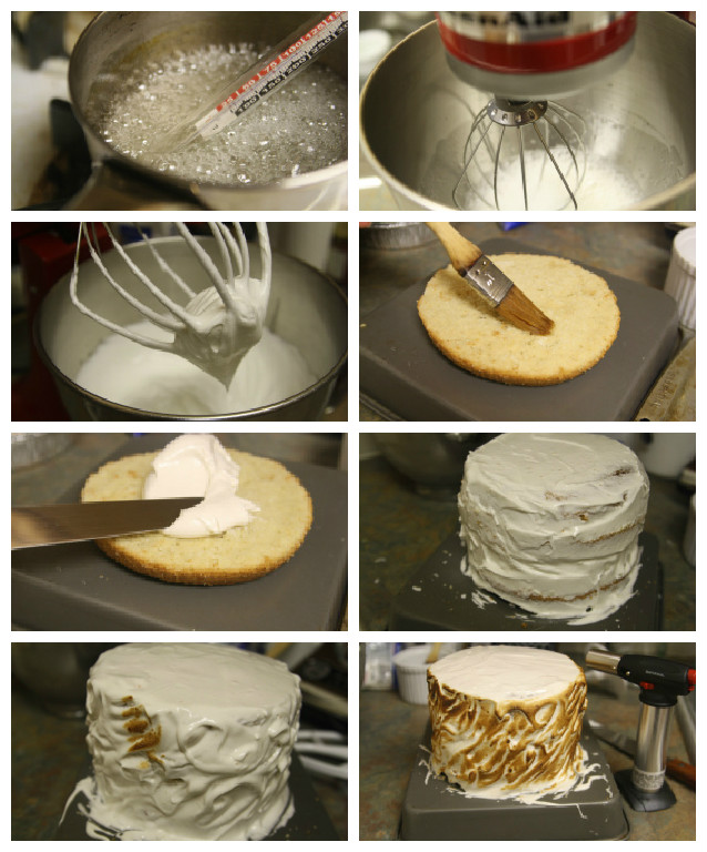 meringue frosting