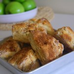 Spiced Apple Scones