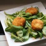 Almond-Crusted Fried Goat Cheese
