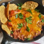 Four-Layer Chili Cheese Dip