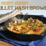 Crispy Cheesy Skillet Hash Browns