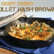 Crispy Cheesy Skillet Hash Browns