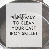Easiest Way To Clean Your Cast Iron Skillet