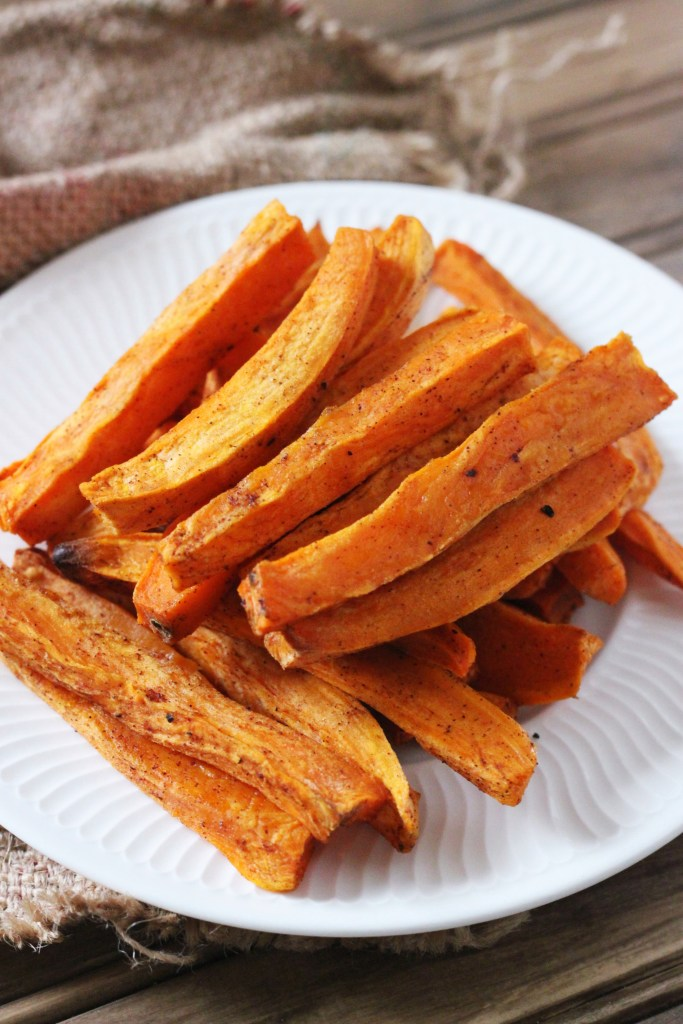 how to make crispy sweet potato fries without oil