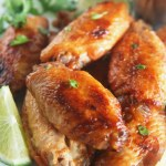Thai Sriracha Lime Wings (+ Sriracha and Srirachup Giveaway)