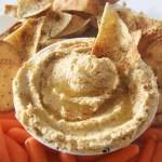 Roasted Garlic Spiced Hummus