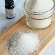 DIY Chamomile Bath Salts