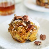 Pumpkin French Toast Cups