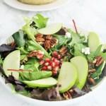 Fall Harvest Salad with Maple Dijon Vinaigrette