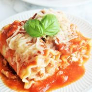 Three-Cheese Lasagna Roll Ups