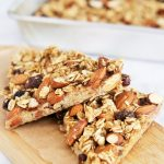 Almond Blueberry Oatmeal Bars
