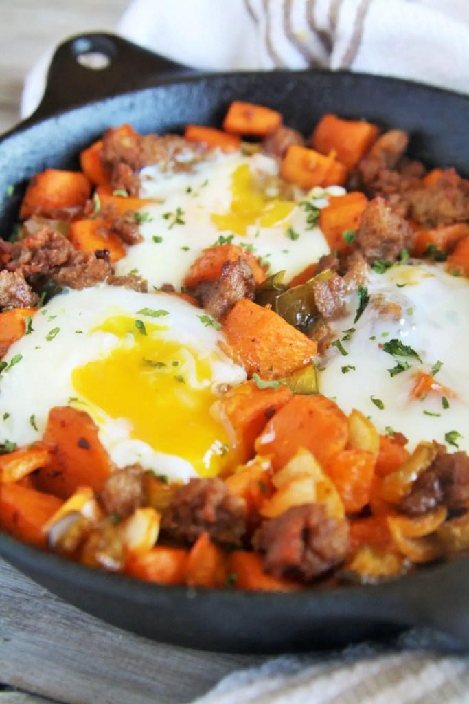 sweet-potato-sausage-breakfast-skillet-5