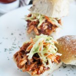BBQ Pulled Pork Sliders with Buttermilk Coleslaw