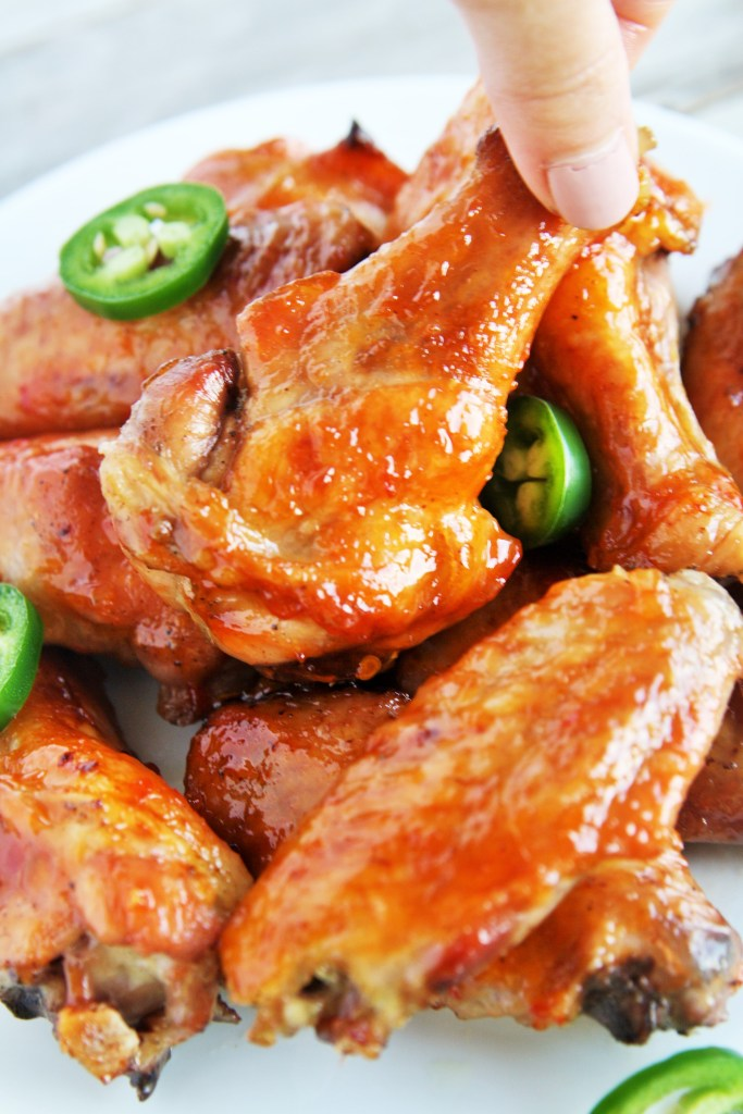 sweet-spicy-glazed-wings-4