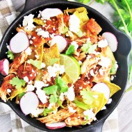Chipotle Chicken Chilaquiles