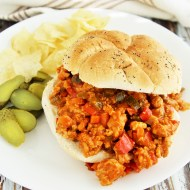 Veggie Loaded Sloppy Joes