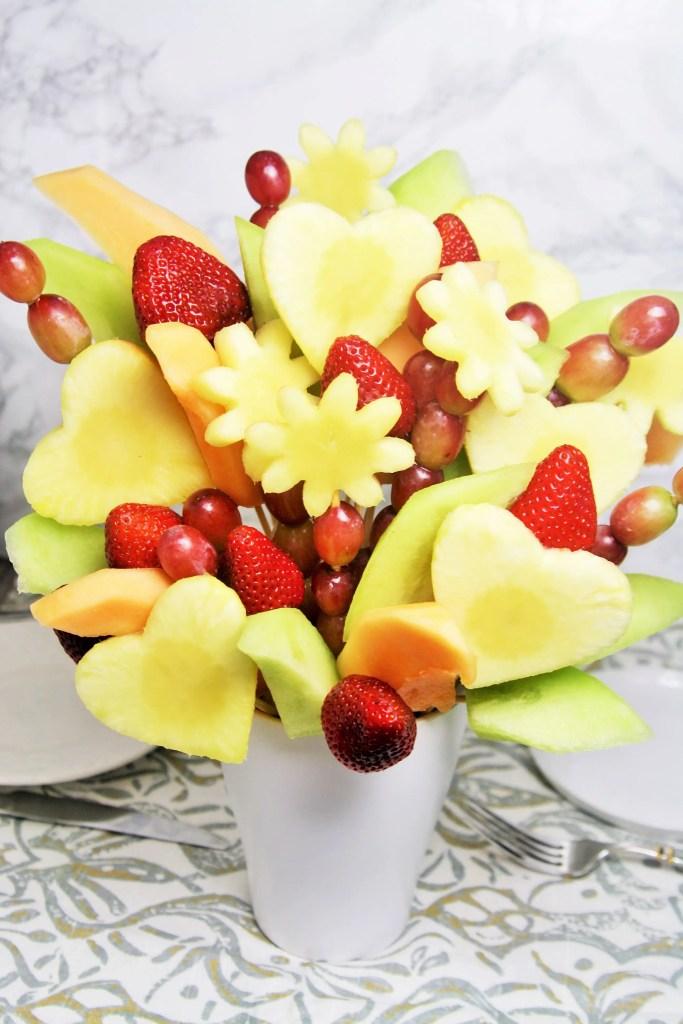 diy fruit bouquet the tasty bite