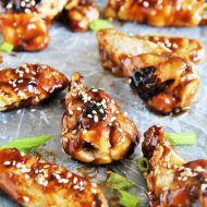 Grilled Honey Sesame Chicken Wings