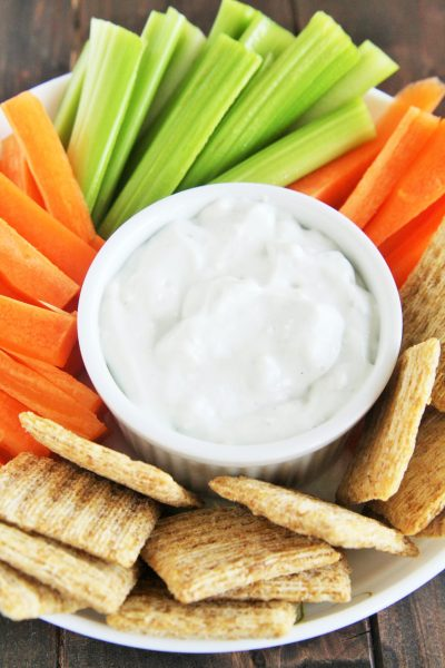 Lightened Up Blue Cheese Dressing