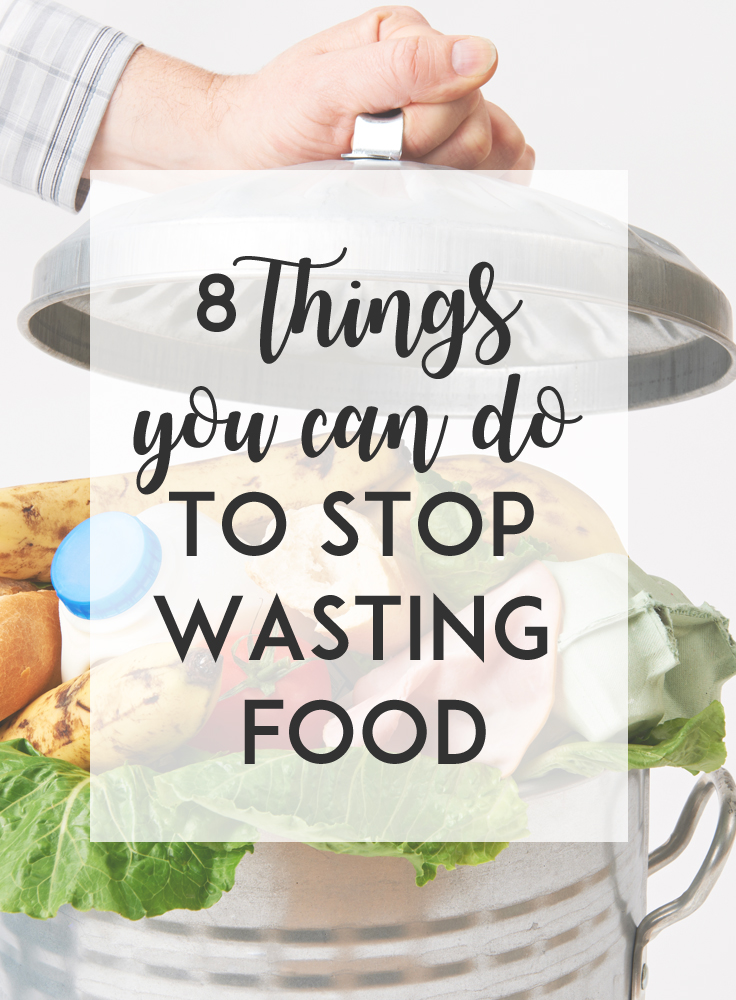 If you hate throwing out food (and essentially throwing money away!), consider these eight things to you can do to stop wasting food and save money.